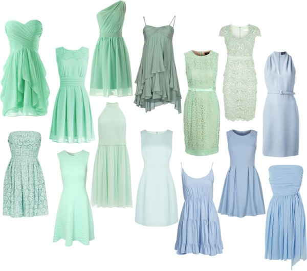 Featured image for 'Greens & Blues: Bridesmaid Dresses for any season: Part 1' article