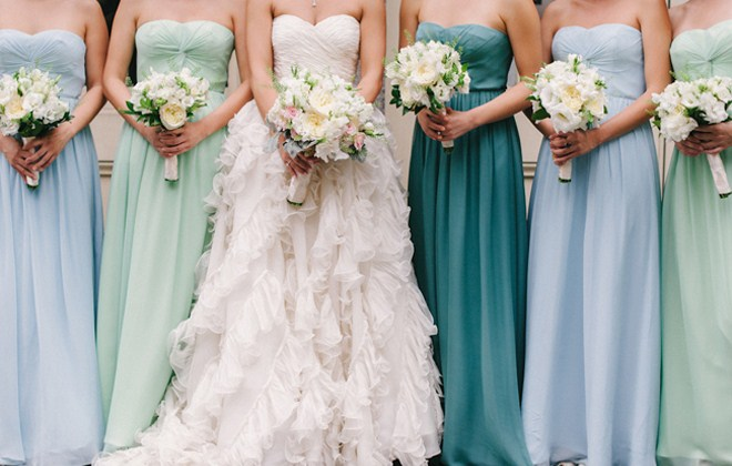 Mixed Bridesmaid Dress Ideas, Lisa Sammons Events (3)