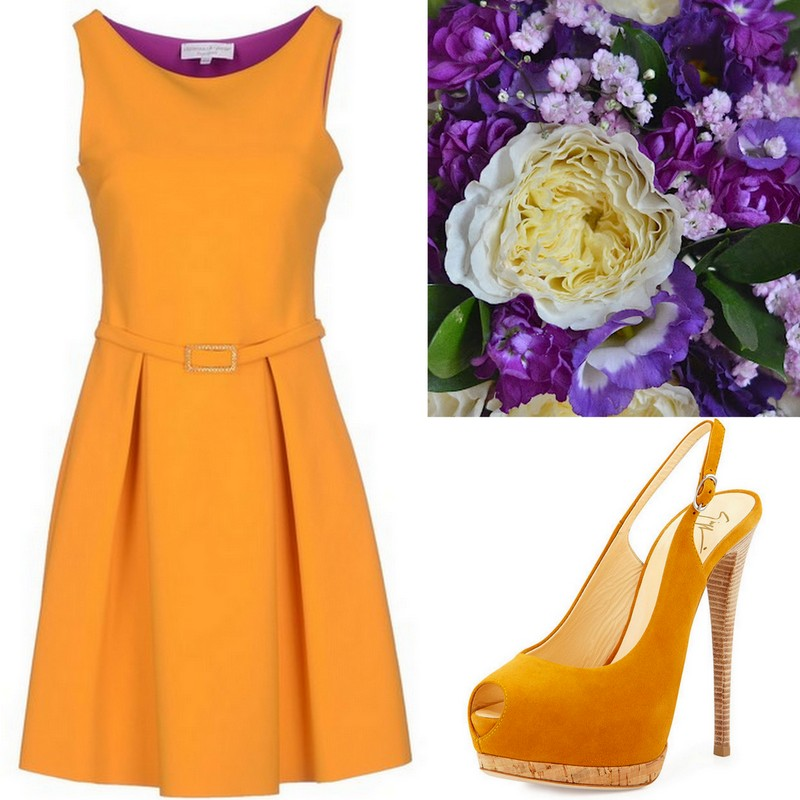 Orange-Tangerine Bridesmaid Dress ideas, Lisa Sammons Events (2)
