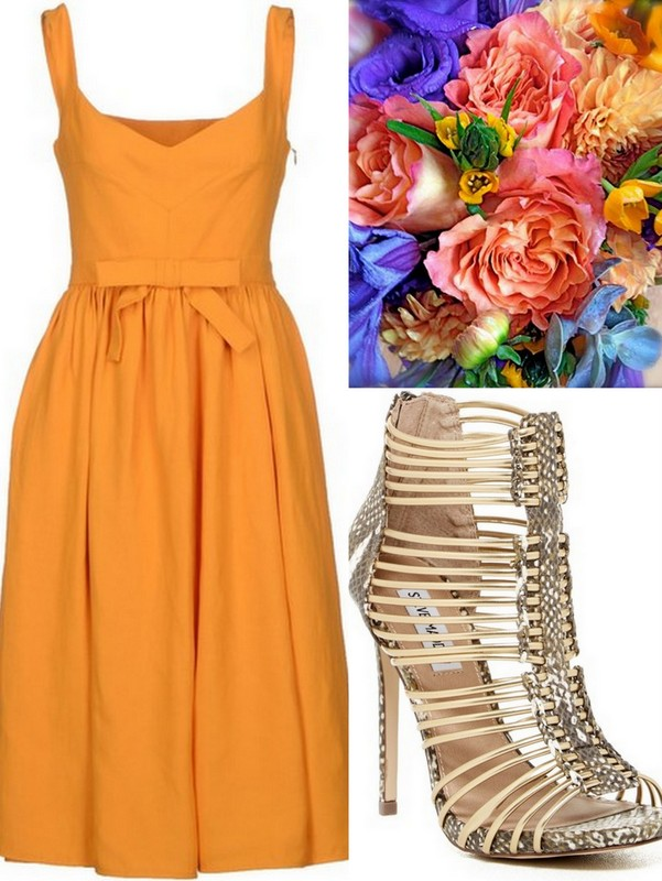 Orange-Tangerine Bridesmaid Dress ideas, Lisa Sammons Events (3)