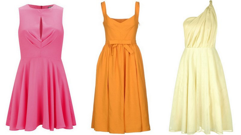 Bridesmaid dresses pink and orange junoir bridesmaid dresses for Pink and orange wedding dresses