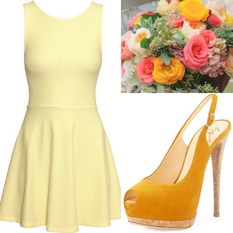 Yellow Bridesmaid Dress ideas, Lisa Sammons Events (2)