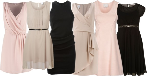 Featured image for 'Mixed Bridesmaid Dresses: Neutral, Blush, Black - Part 1' article