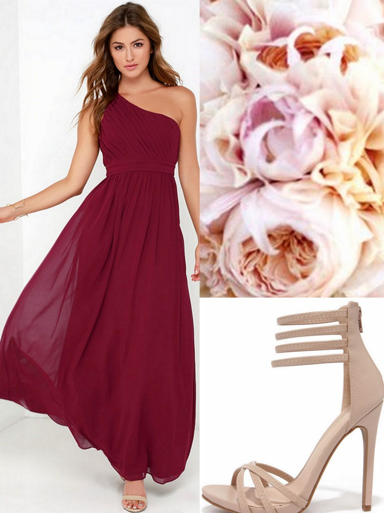 Burgundy bridesmaid dresses oxblood burgundy bridesmaid dresses ombrellifo Image collections