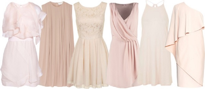 Featured image for 'Blush Bridesmaid Dress Ideas' article