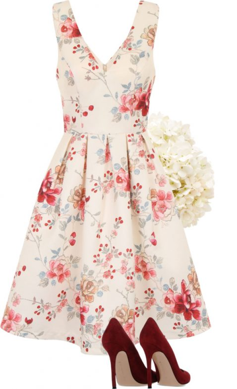 Floral Print Bridesmaid Dresses - Lisa Sammons Events