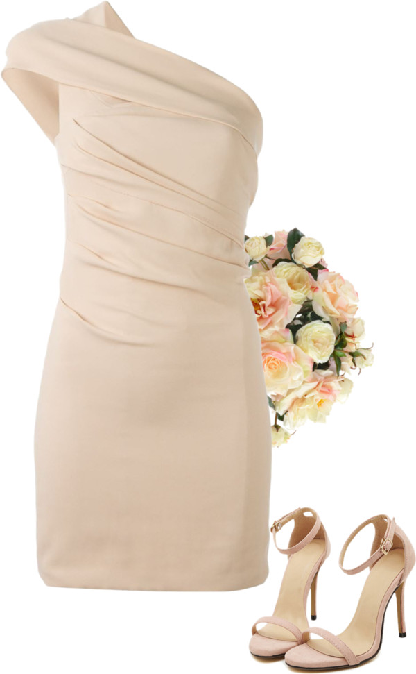 peach bridesmaid dress ideas - Lisa Sammons Events