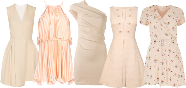 Peach Bridesmaid Dresses 7