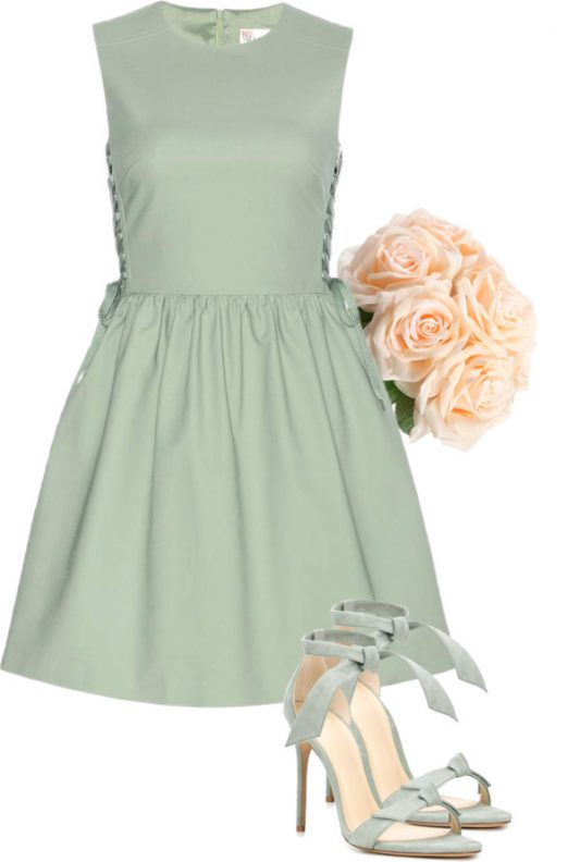 sage bridesmaid dresses - Lisa Sammons Events