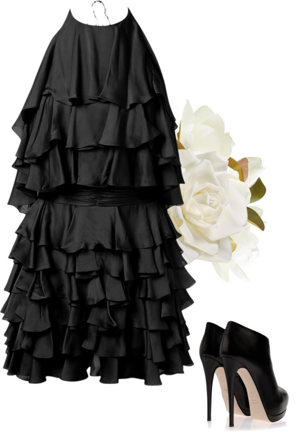 black-bridesmaid-dress-ideas