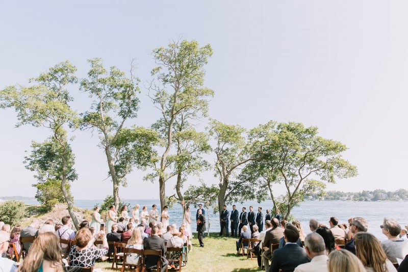 Featured image for 'Maine Waterfront Wedding' article