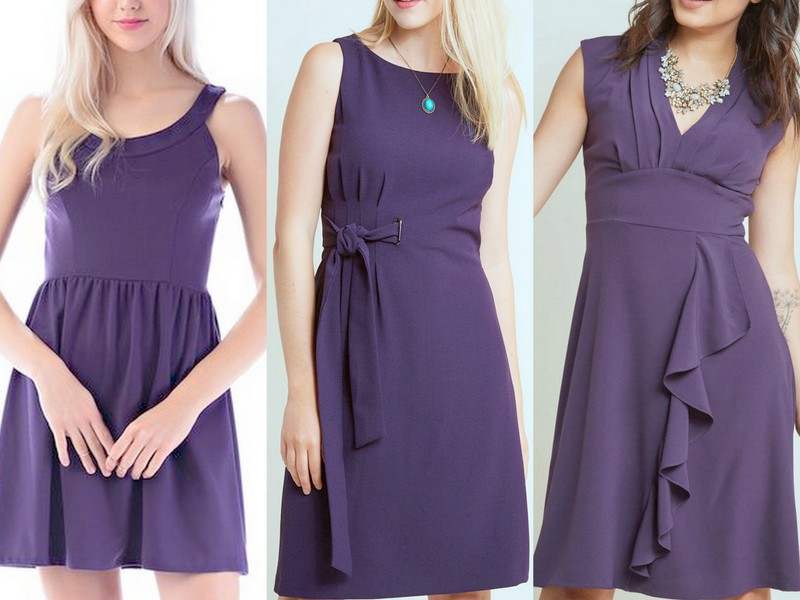 Violet Bridesmaid Dresses - Style Inspiration and Design by Lisa ...