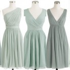 Inspiration: Bridesmaid Dresses: Color: Grayed Jade