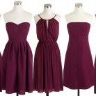 Fall & Winter Weddings-Cranberry Red – Burgundy Bridesmaid Dresses