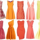 Pink, Orange, & Yellow: Bridesmaid Dresses: Spring & Summer
