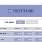 Wedding Budget Planner Tool – Compliments of Lisa Sammons Events